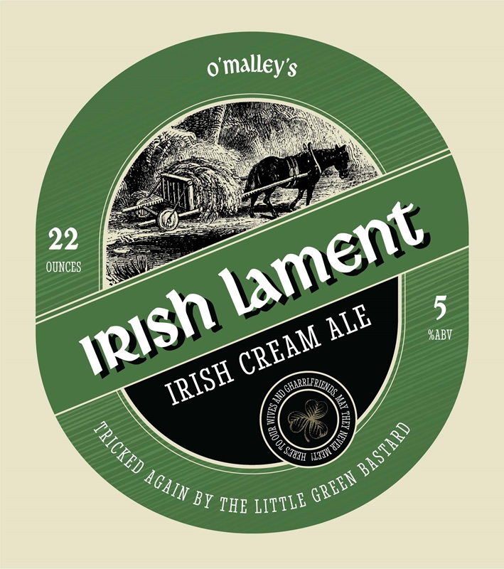 Picture of Irish Lament Metal Sign