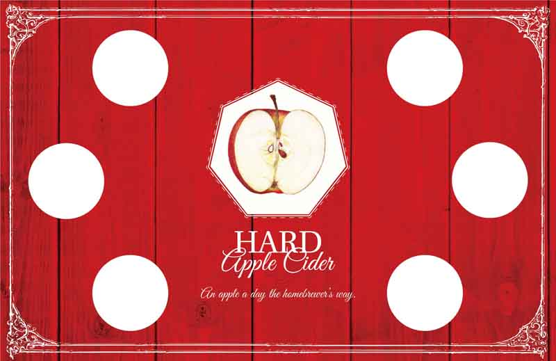 Picture of Hard Apple Cider Tasting Mat
