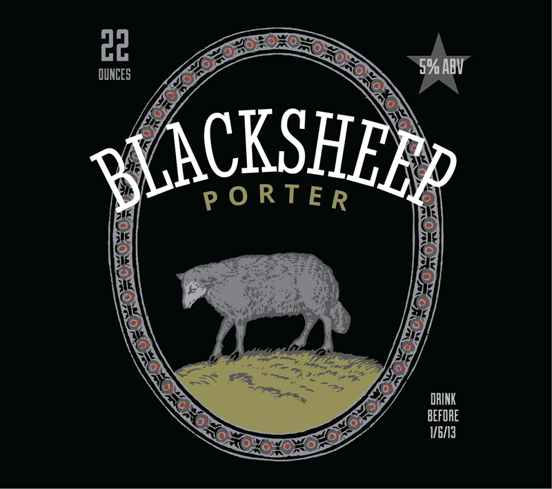 Picture of Blacksheep Metal Sign Landscape