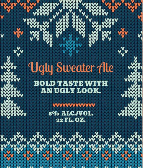 Picture of Ugly Sweater Wine Label