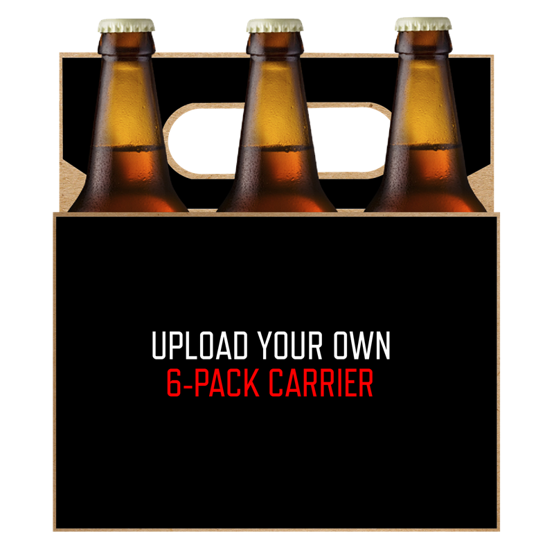 Picture of Upload Your Own 6-Pack Carrier